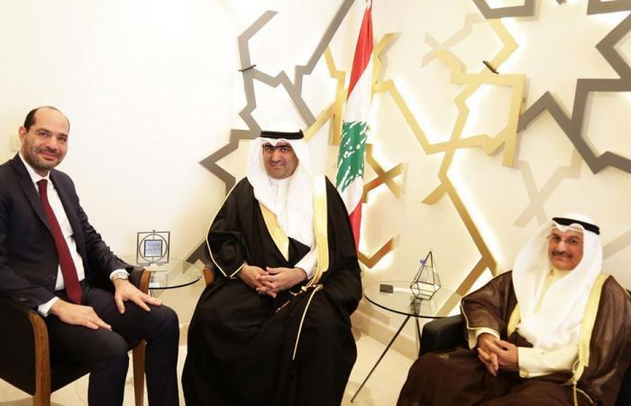 الوزير مراد عرض ووزير التجارة والصناعة الكويتي العلاقات التجارية