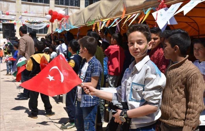 سوريا | بحضور رسمي.. عيد السيادة التركي على الأراضي السورية