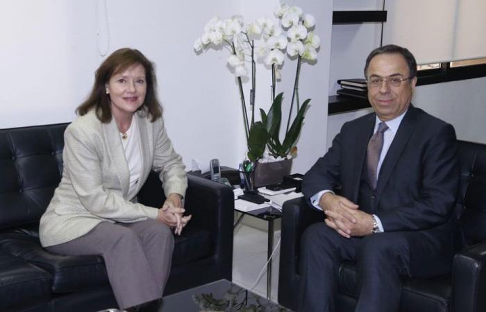 السفيرة الأميركية: حريصون على استقرار لبنان الاقتصادي
