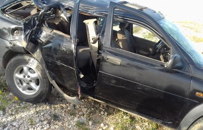حادث مروع في النبطية… قتيل و4 جرحى!