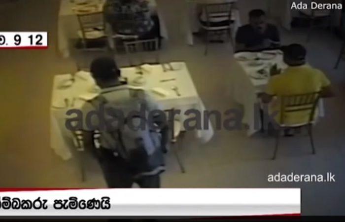 كاميرا ترصد تردد أحد انتحاريي سريلانكا في تفجير نفسه