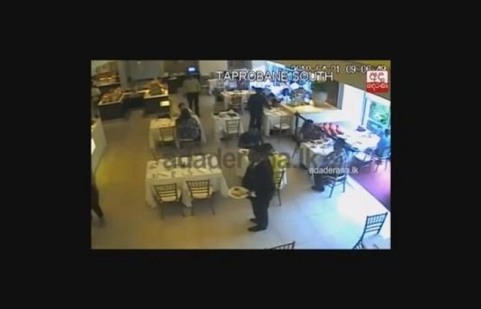 الخليح | شاهد لحظة تفجير انتحاري سريلانكا نفسه بجوار سعودييْن