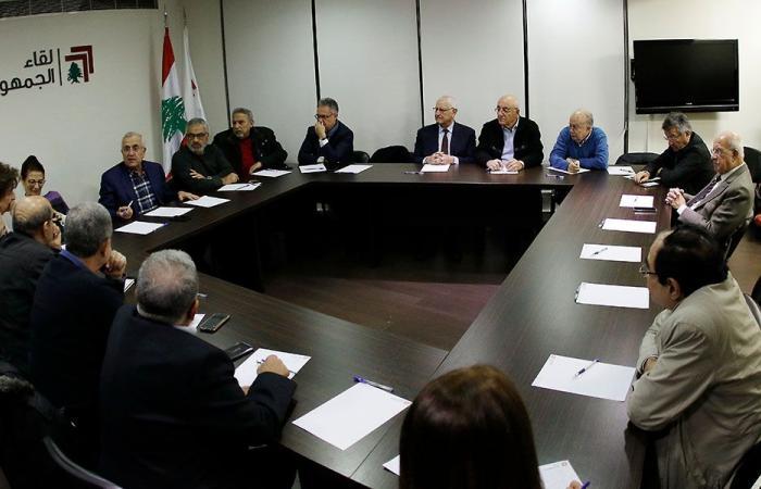 لقاء الجمهورية: لإيقاف استنزاف الدولة لمصلحة الدويلات