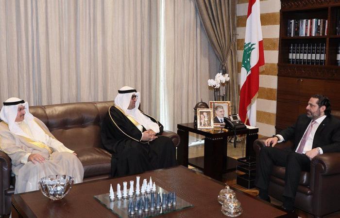 الحريري عرض ووزير التجارة الكويتي كيفية تعزيز حجم التبادل