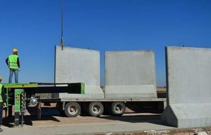سوريا   جدار من 3 أمتار.. هكذا تعزل تركيا عفرين عن سوريا
