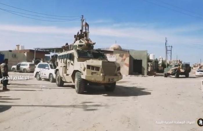 طرابلس.. الجيش الوطني الليبي يتقدم على محاور القتال