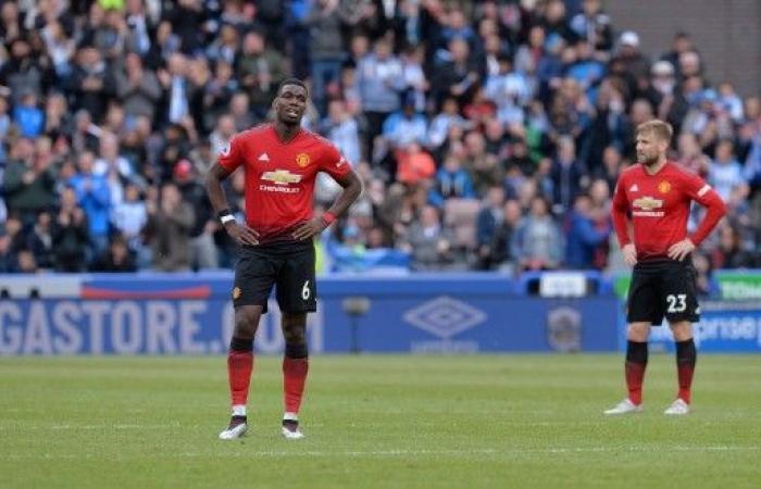 مانشستر يونايتد خارج دوري الأبطال الموسم المقبل