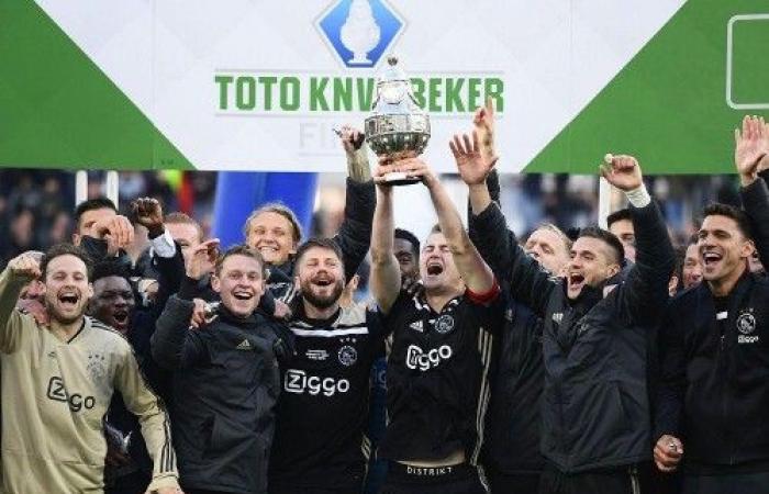 أياكس أمستردام يتوج بلقب كأس هولندا