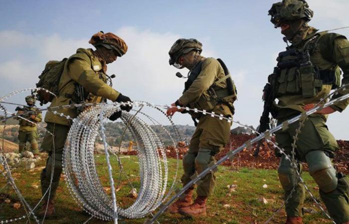 إسرائيل تتابع أشغالها مقابل بلدة مركبا