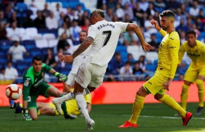 ماريانو يخرج ريال مدريد من سوء النتائج