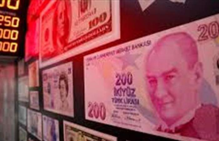 الليرة التركية عند أسوأ مستوى لها منذ 7 أشهر