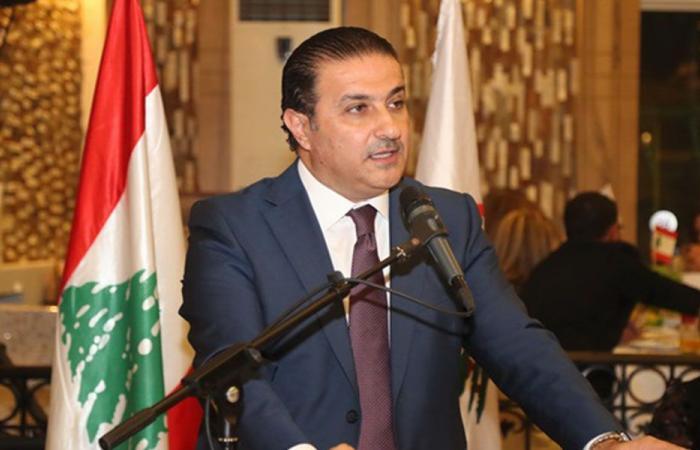 """سعد عن """"قذيفة باسيل"""": حبذا لو حمل شعار الشرعية اللبنانية"""