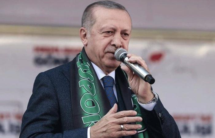 أردوغان يؤيد إعادة الانتخابات في إسطنبول