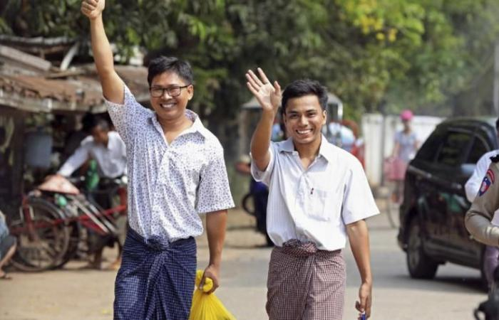 اليونسكو ترحب بالإفراج عن صحفييّ وكالة رويترز في ميانمار