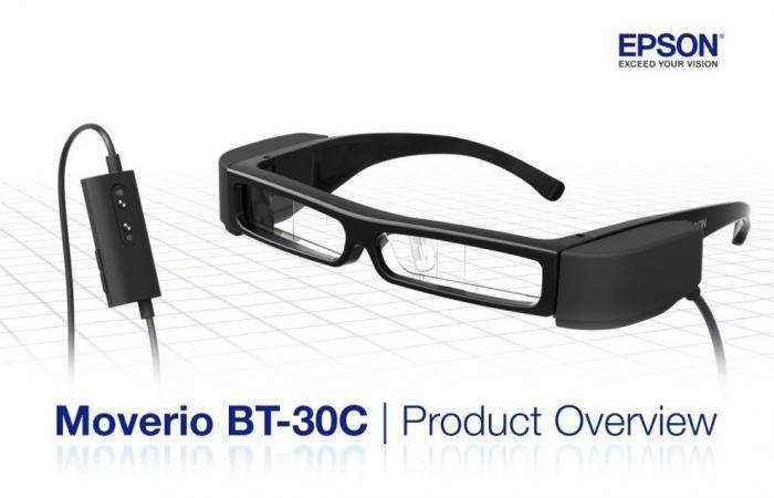 إبسون تعلن عن نظارة جديدة للواقع المعزز مع منفذ USB-C