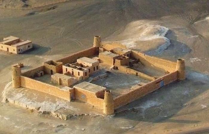 الخليح | صور لقلعة سعودية بنيت بالأحجار الكلسية منذ 100 عام