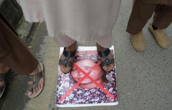 الباكستانية آسيا بيبي وصلت إلى كندا والتقت عائلتها
