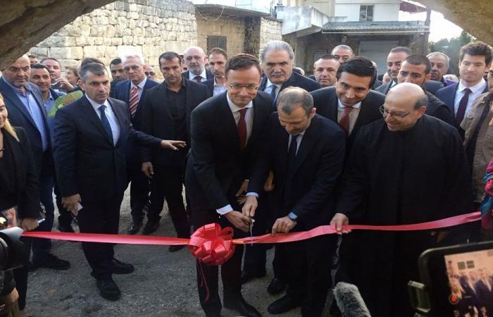 باسيل: نطمح لترميم ألف كنيسة في لبنان