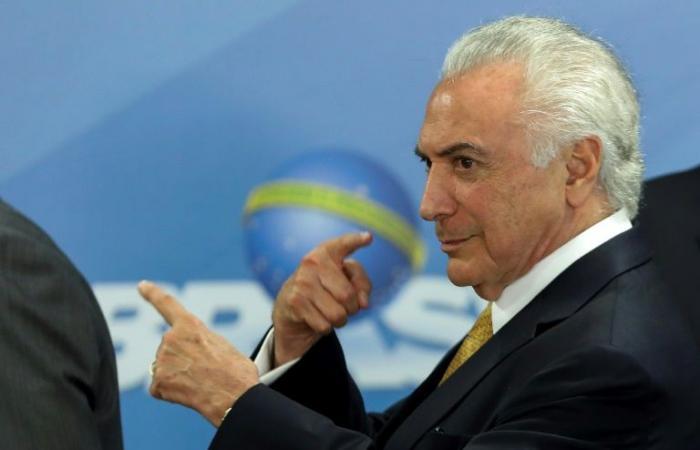 القضاء البرازيلي يأمر بإعادة سجن الرئيس السابق ميشال تامر