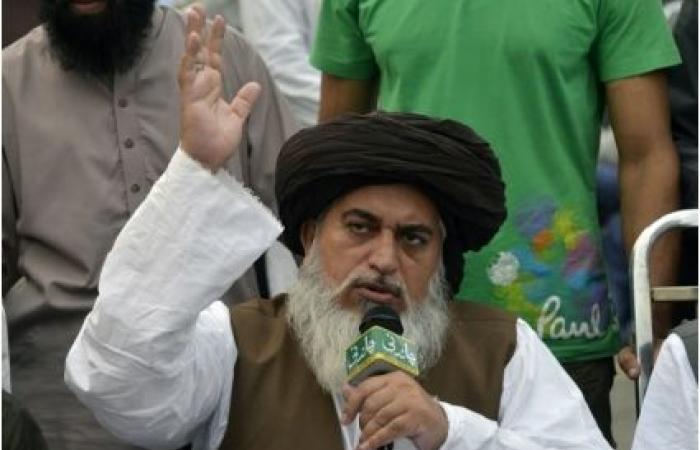الإفراج عن زعيم حزب إسلامي يقف وراء التظاهرات العنيفة ضد آسيا بيبي
