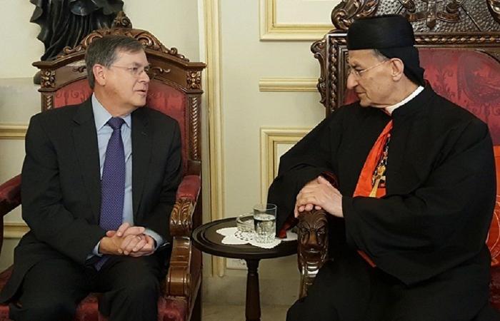 ساترفيلد في بكركي: البطريرك صفير كان رجلًا عظيمًا