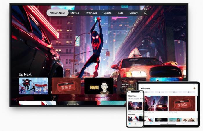 آبل تعلن إطلاق النسخة الجديدة كليًا من تطبيق Apple TV