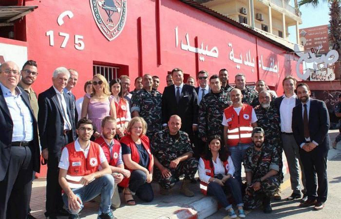 وزير داخلية برلين من صيدا: مستعدون لتقديم الدعم للبنان