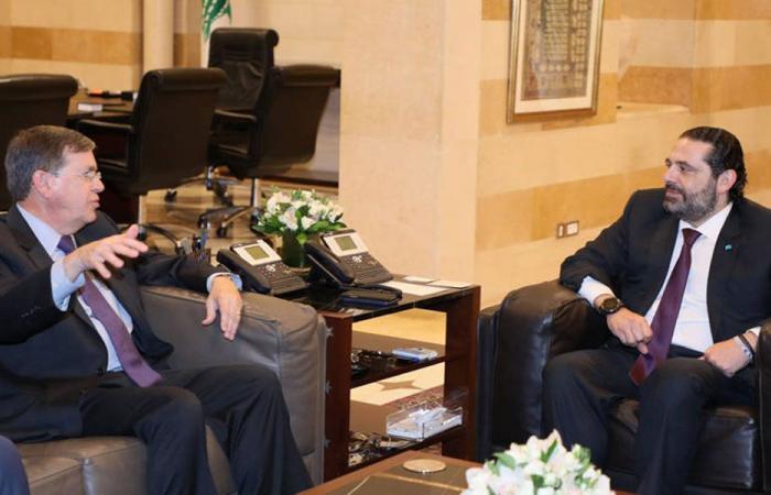 اجتماع ثان بين الحريري وساترفيلد