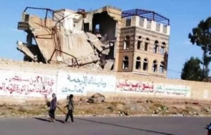 اليمن   ميليشيات الحوثي تفجّر منزل والد وزير الدفاع اليمني
