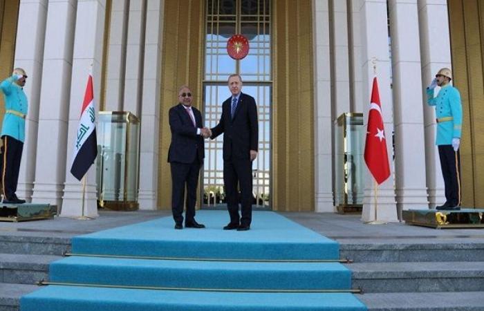 اتفاق عراقي تركي على تعاون أمني وإستخباري ونفطي وتجاري