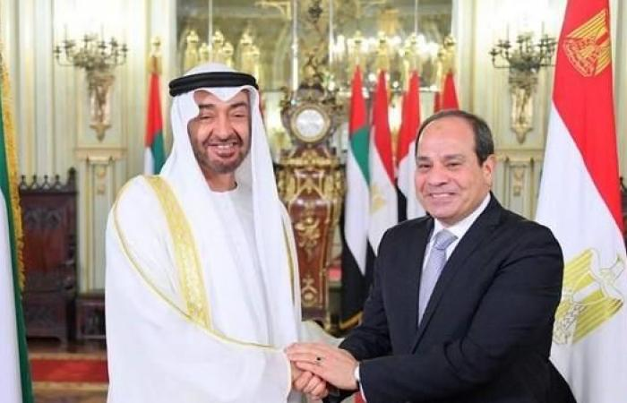 مصر   محمد بن زايد يزور مصر اليوم ويعقد مباحثات مع السيسي