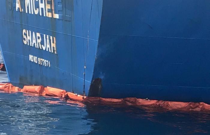 الخليح | فيديو للسفن المتضررة.. تخريب من أسفل وبنفس الطريقة!