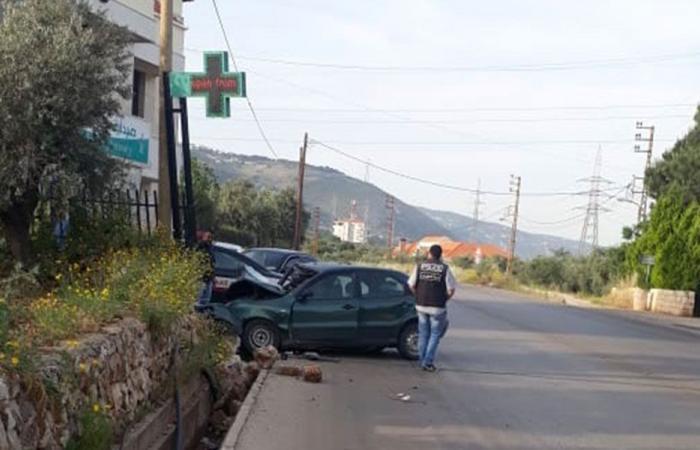 حادث سير يخطف ابن برقاشا