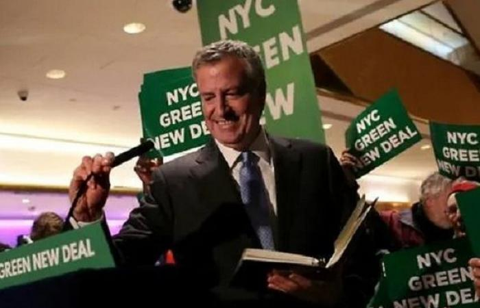 رئيس بلدية نيويورك يعلن ترشحه للانتخابات الرئاسية