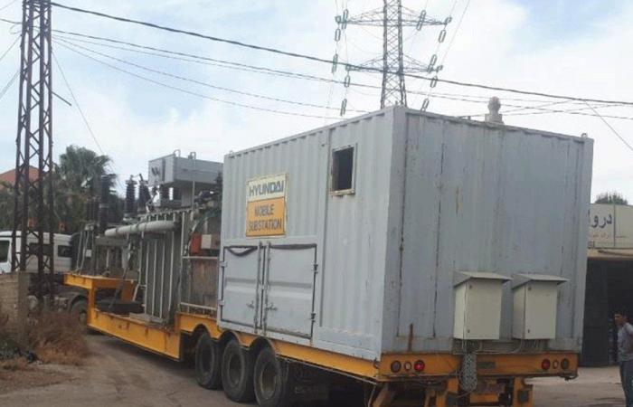 محطة كهرباء نقالة في الهرمل
