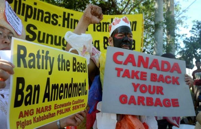 الفيليبين تقول إنها سحبت سفيرها من كندا بسبب خلاف حول نفايات كندية