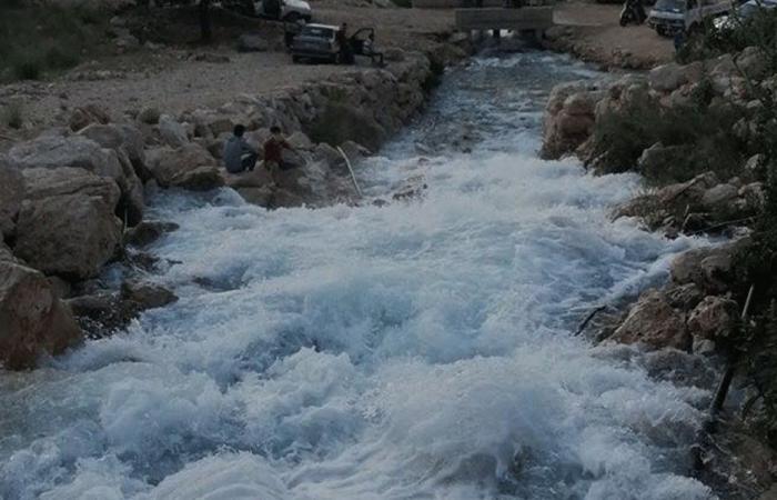 """تفجّر مياه """"النبع المسحور"""" في بقرصونا-الضنية"""