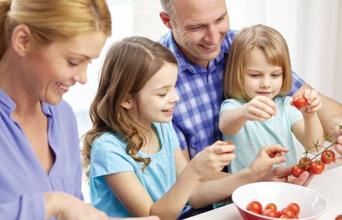 نصائح لجعل الصغار يتناولون الخضار