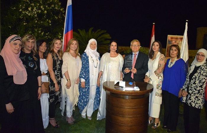 زاسبكين: لتعزيز الروابط الروسية اللبنانية في مختلف المجالات