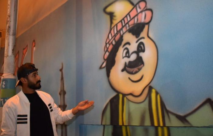 الخليح | مبادرة رمضانية.. شباب يحولون حيهم إلى لوحة فنية