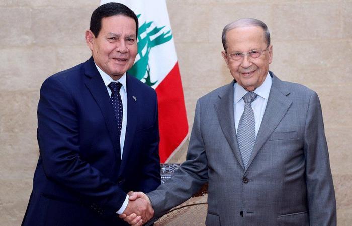 عون التقى نائب رئيس البرازيل: لتعزيز العلاقات الثنائية