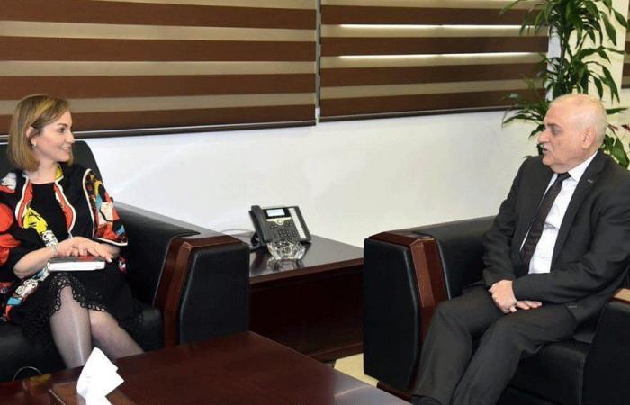 جمالي عرضت مع جبق قضايا إنمائية تخص طرابلس
