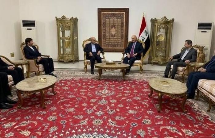 العراق | الرئيس العراقي يستقبل سفير إيران ويدعو لحوار إيجابي