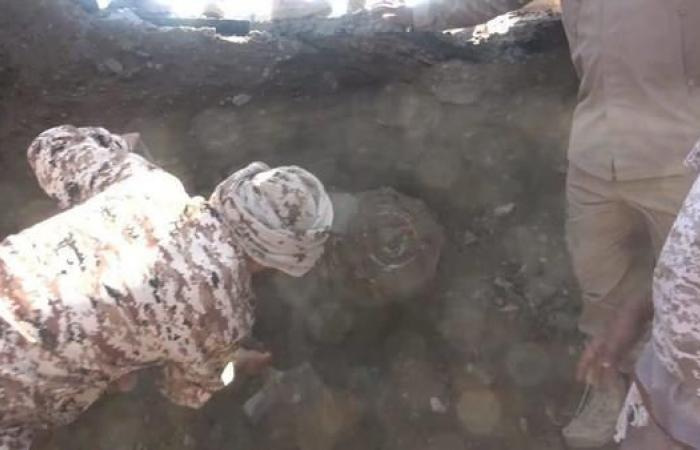 اليمن | فيديو.. اكتشاف نفق حوثي مزروع بالمتفجرات في الحديدة