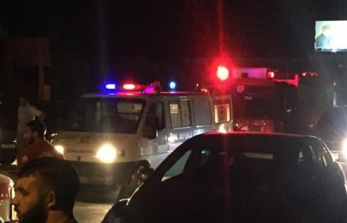 حادث سير عند مفرق مستشفى البقاع... وسقوط 5 جرحى (صور)