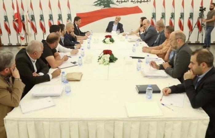 جعجع اطلع على المشاريع الإنمائية في بشري