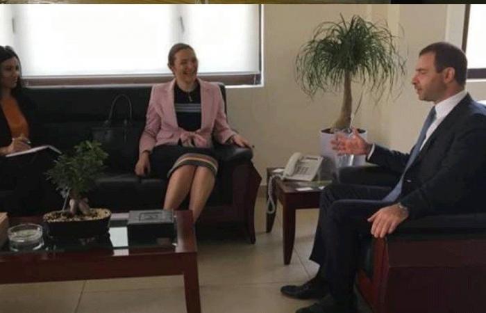 أفيوني بحث وسفيرة الدنمارك التعاون التكنولوجي