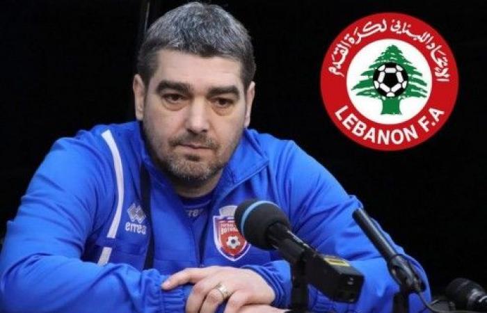 """الروماني """"ليفيو كيوبتاريو"""" مدرباً لمنتخب لبنان"""