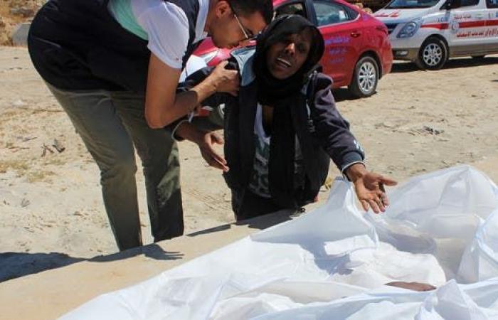 غرق شخصين وفقدان آخرين في انقلاب قارب قبالة ليبيا