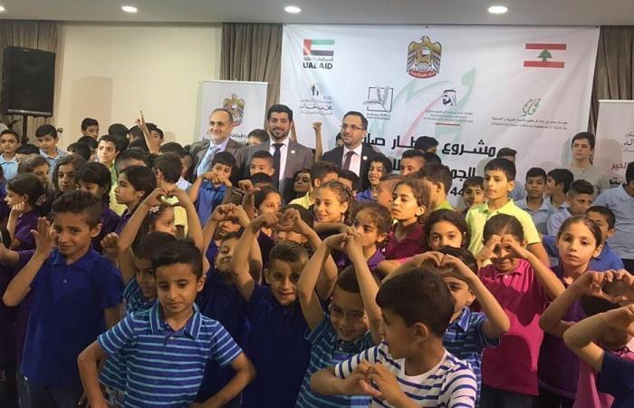 سفارة الامارات اقامت افطارا للاطفال في مؤسسات محمد خالد